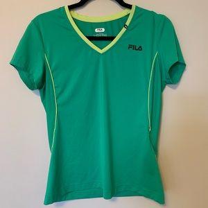 FILA SPORT Green Shirt